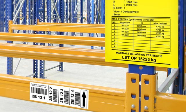 Warehouse & Location labelling