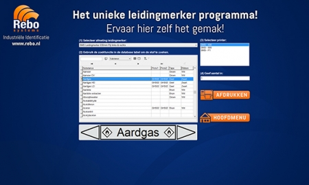 Leidingmerker software