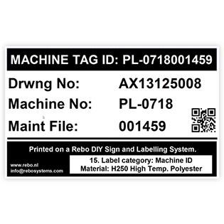 Machine Tag ID