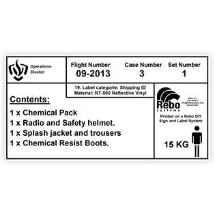 Crate Label