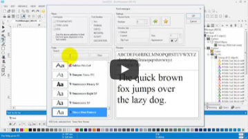 EasySign | Font manager