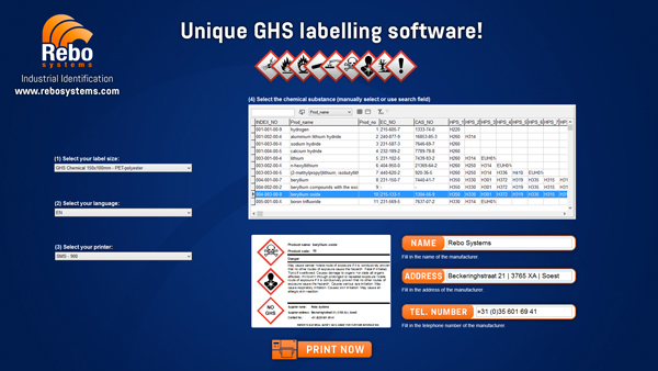 GHS label software