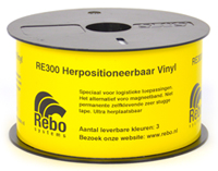 RePLACE herpositioneerbare tape (RE300)