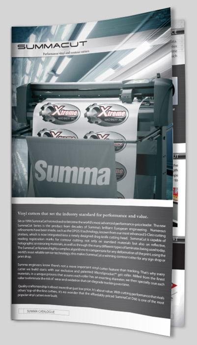Summa SummaCut vinyl cutters | Rebo Systems