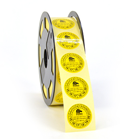Industriële Vinyl etiketten