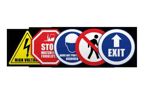 ReLINE Floor Signs
