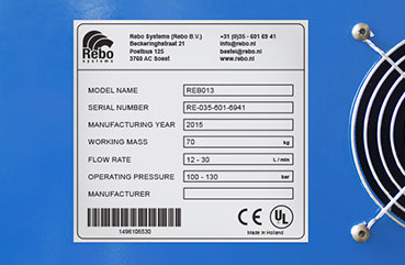Industrial Identification & Technical Labelling | Rebo Systems