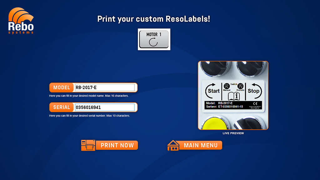 Resopal labelling solution | NiceLabel Powerforms
